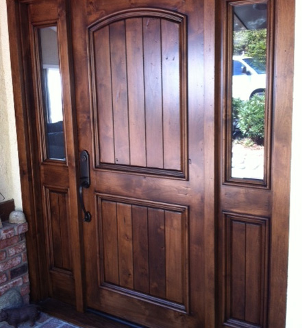 Custom entry doors for Custom front doors